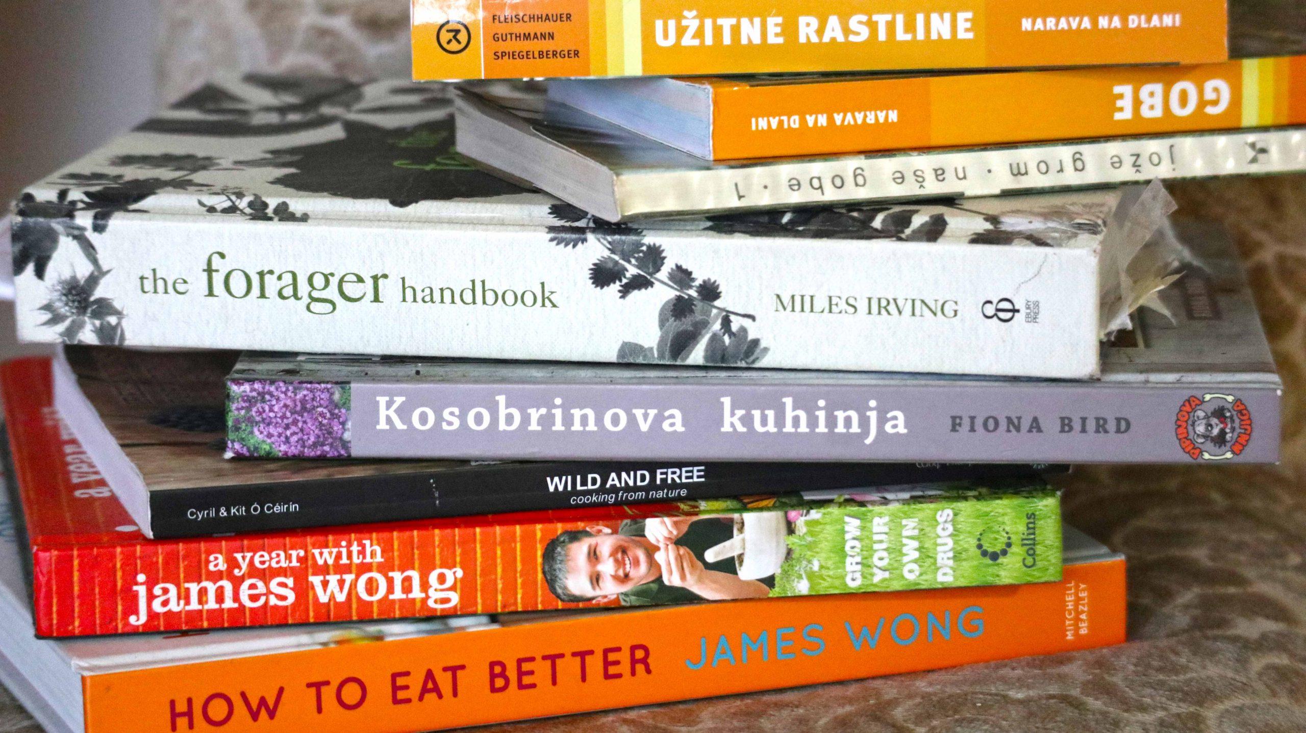 Knjige o rastlinah - divjih, zdravilnih, jedilnih in okrasnih