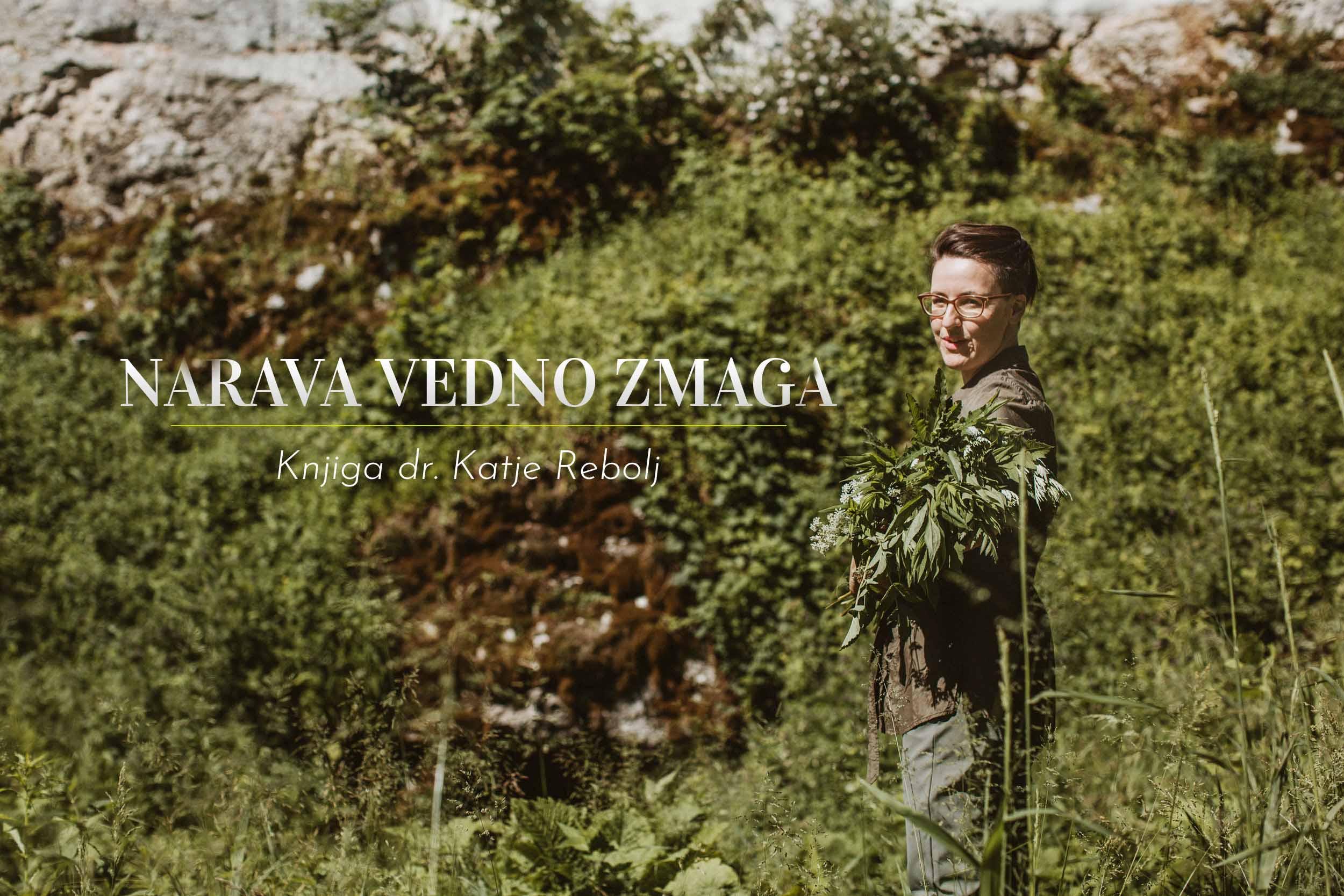 Narava vedno zmaga - knjiga divje rastline