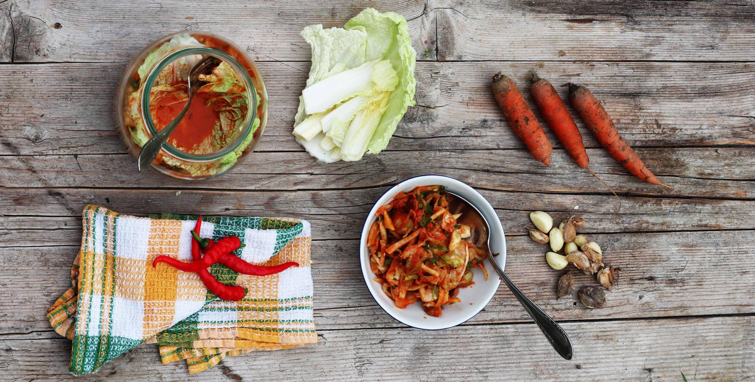 Kimči po slovensko ali kislo zelje po korejsko